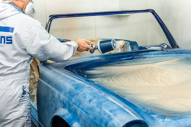 Treating Car Paint With Rust Bubbles